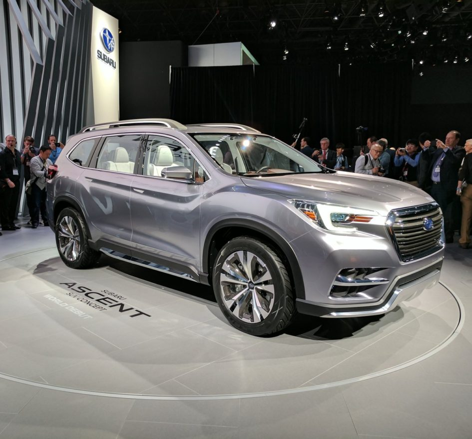 Everything You Need To Know About The 2018 Subaru Ascent Concept Suv