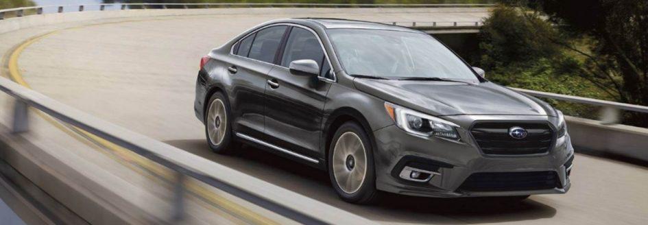 Grey Subaru sedan