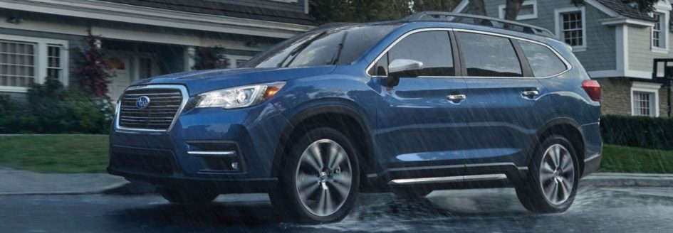 2020 Subaru Ascent blue SUV
